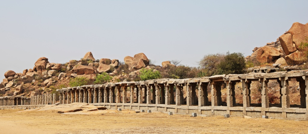 Sule Bazaar, aka red-light district, Hampi