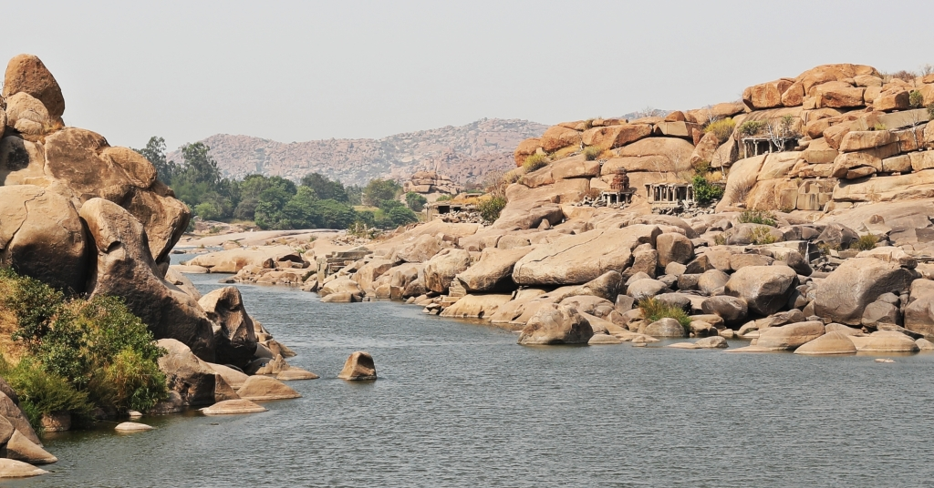 Ruins on the Tungabhadra River