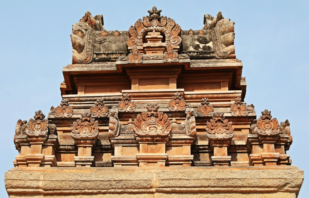 Roof of Krishna Temple, Hampi