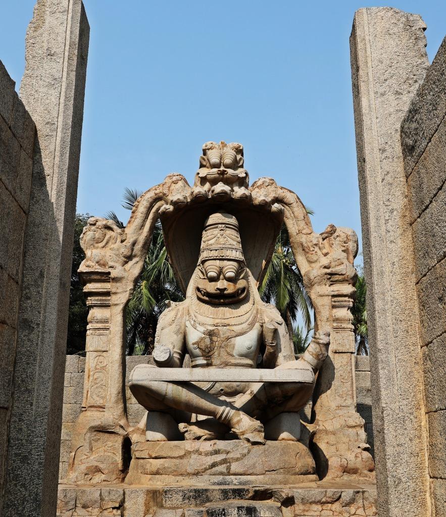 Lakshimi Narasmiha monolith, Hampi