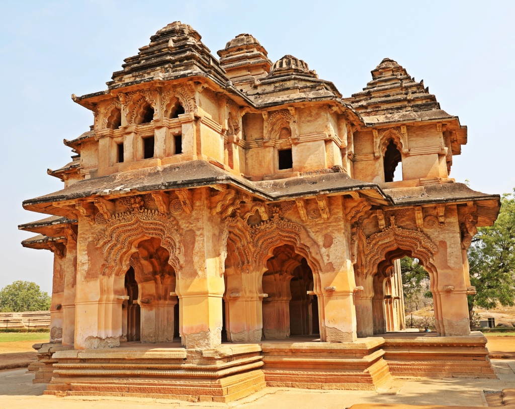 Lotus Mahal, Zenana Enclosure, Hampi