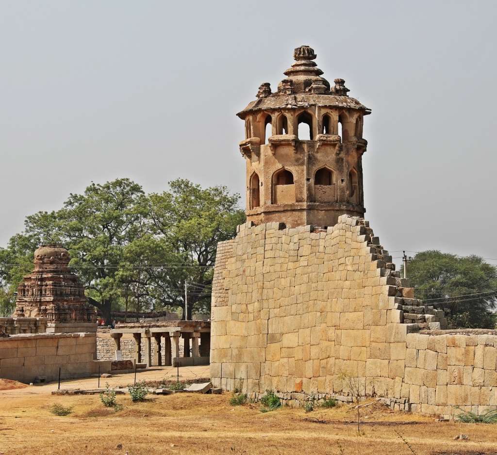 Watch Tower, Zenana Enclosure, Hampi