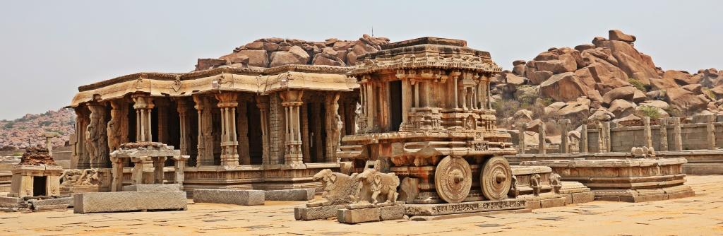 Stone Chariot, Vittala Pavilion,Hampi