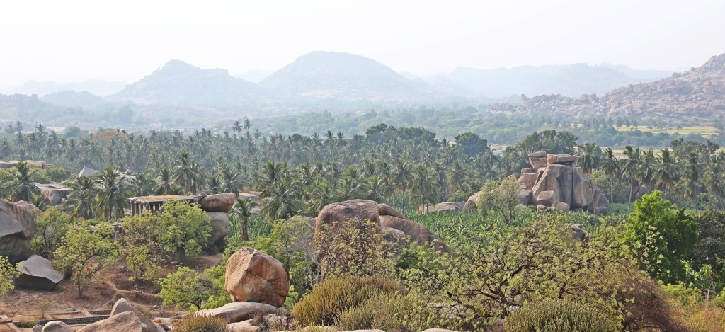 View from Hemakuta Hill, Hampi