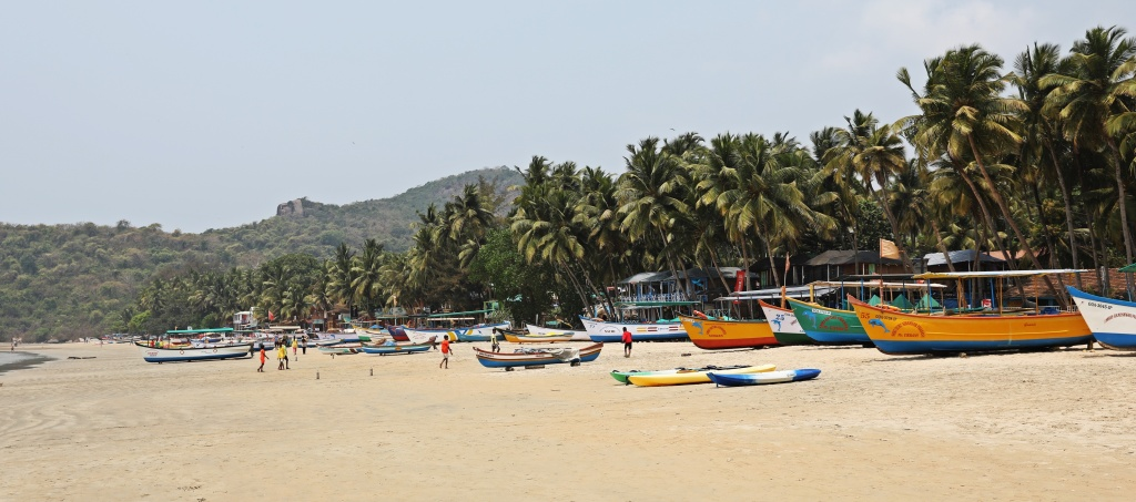 Fishing boats, Palolem Beach, Goa