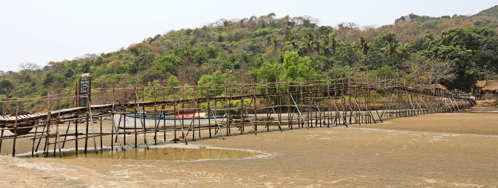 Rickety Bridge, Palolem Beach, Goa