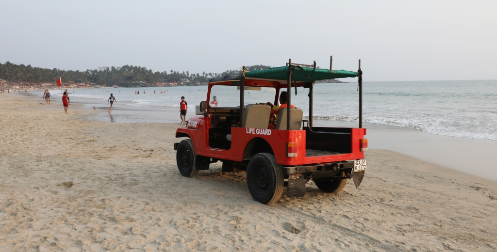 Bay Watch in Palolem Beach, Goa