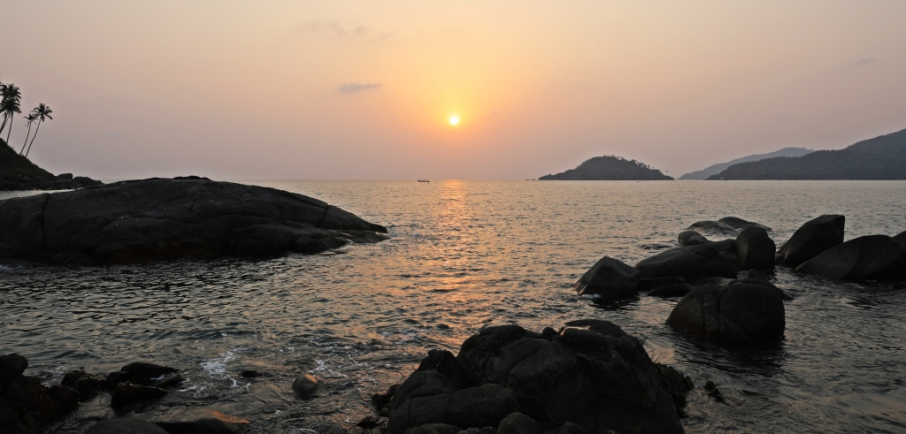Sunset, Palolem Beach, Goa
