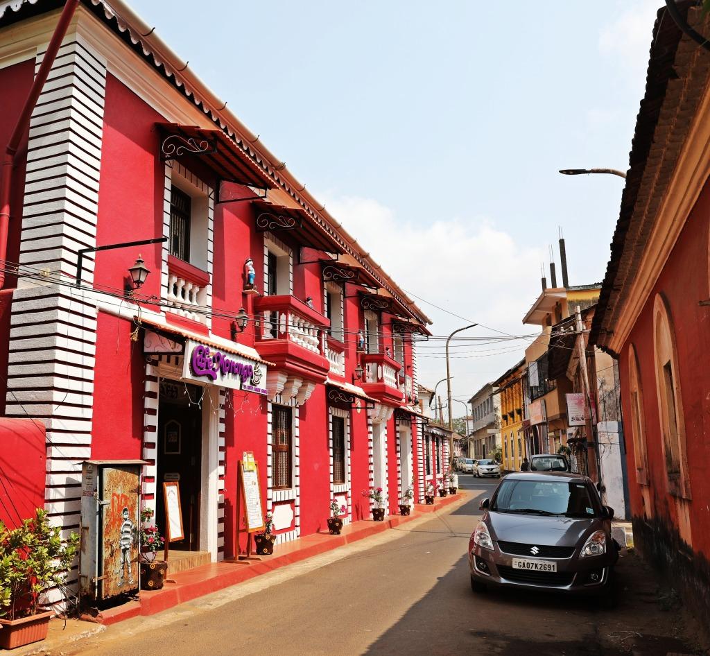 Portuguese architecture, Panaji, Goa