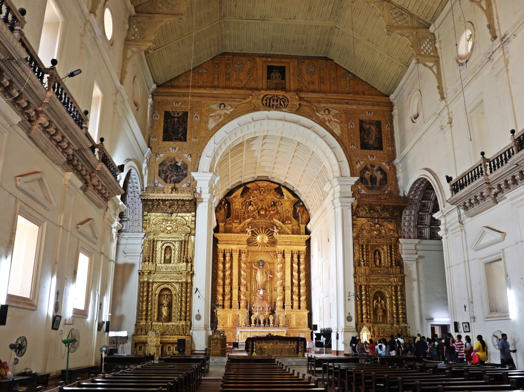 Alter Basilica of Bom Jesus, Old Goa