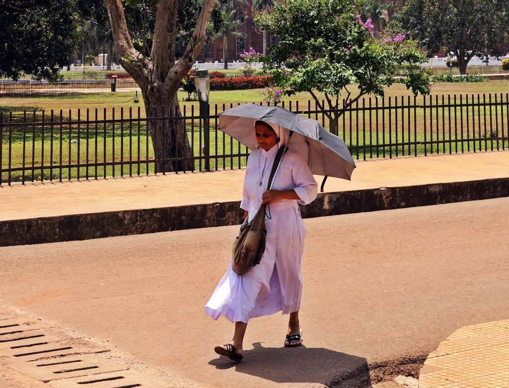Catholic Nun, Old Goa