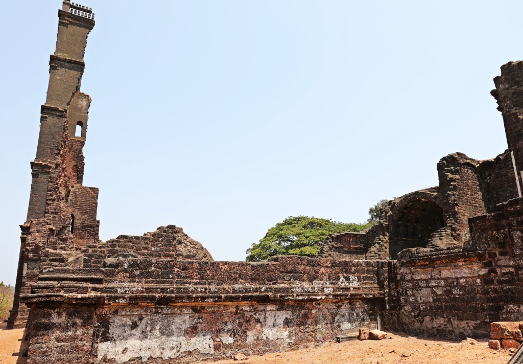 St. Augustine ruins, Old Goa