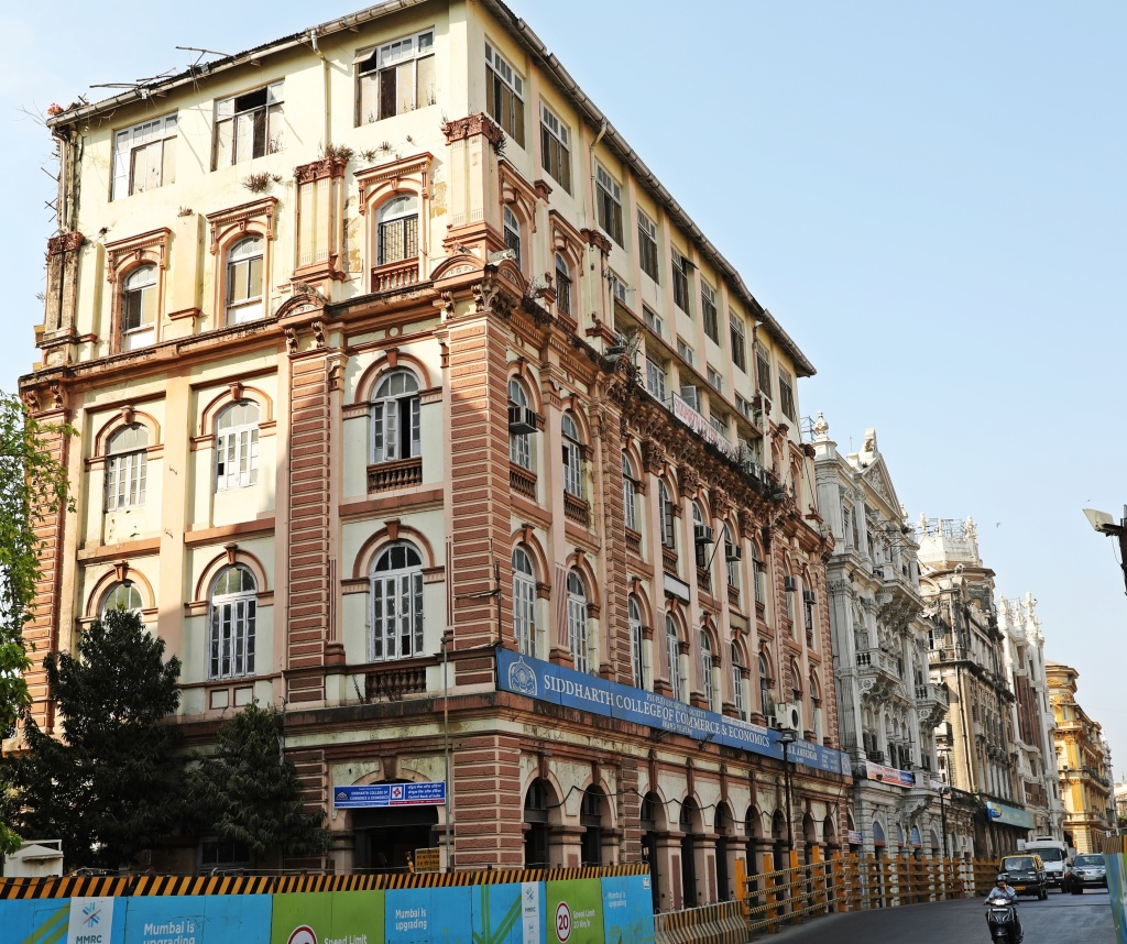 Colonial buildings. Mumbai