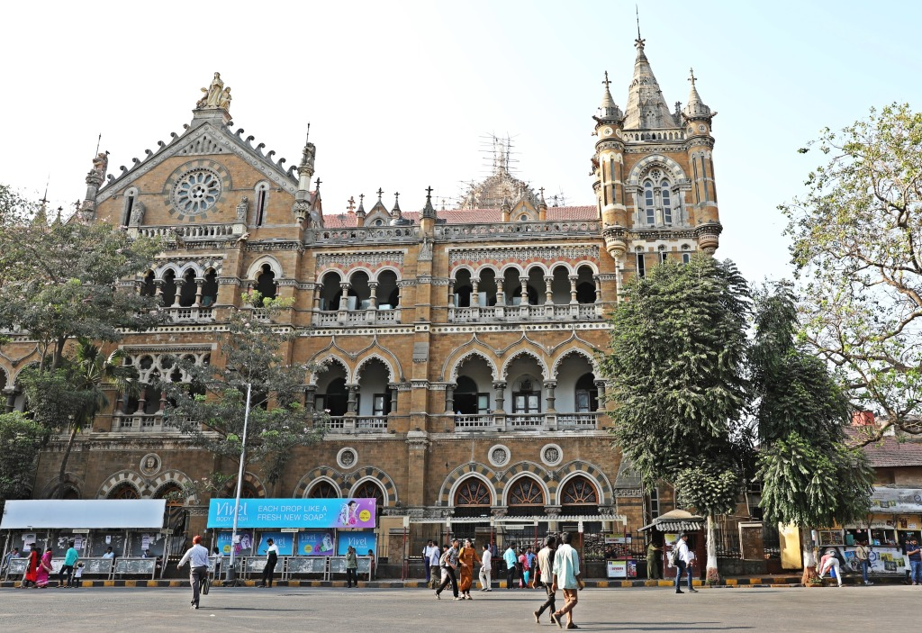 Churchgate Railway Station, Mumbai