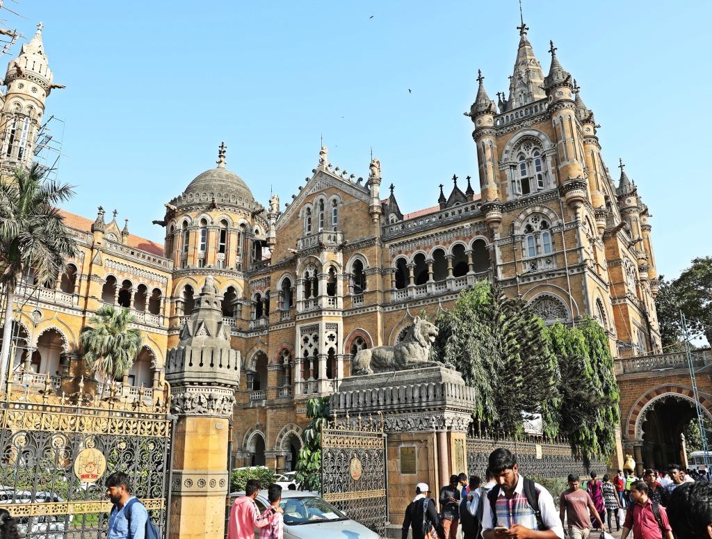 Chhatrapati Shivaji Terminus train station, Mumbai