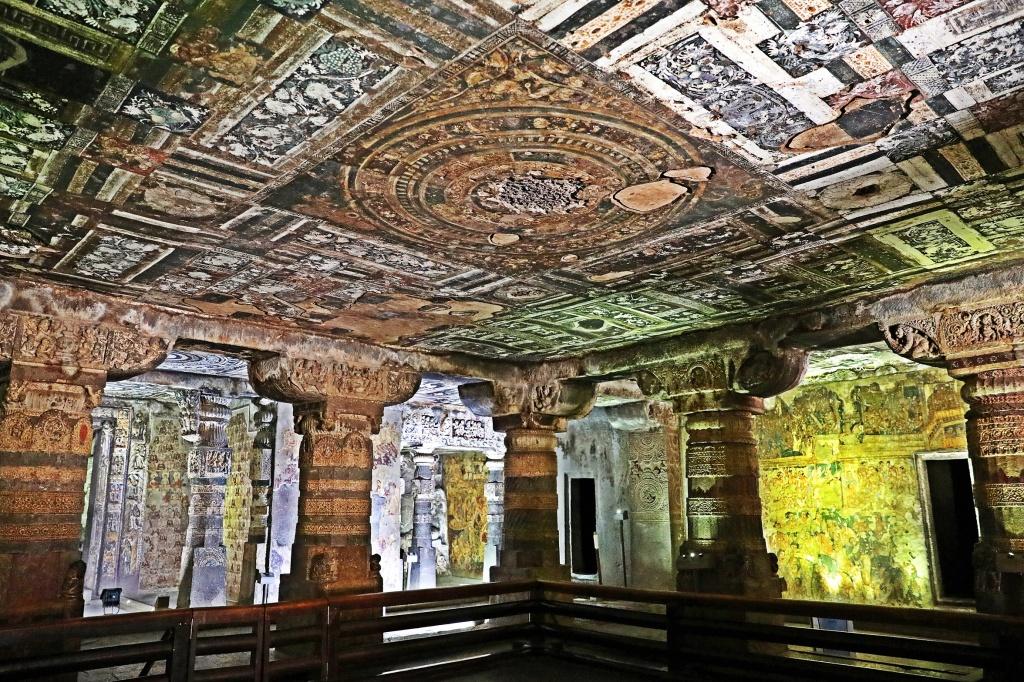 Frescoes, Ajanta