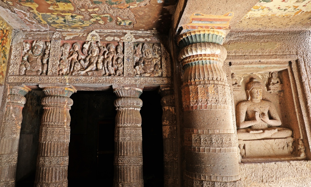 Buddhist rock-cut temples, Ajanta