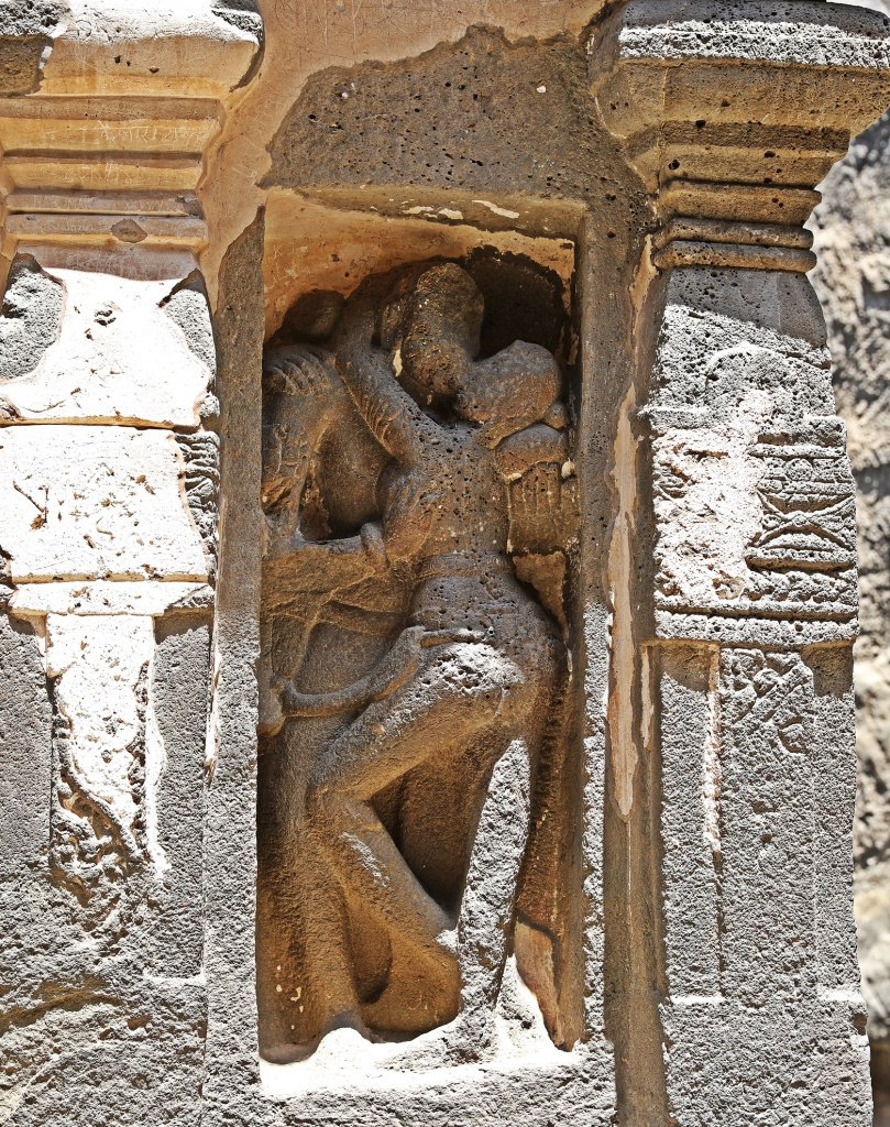 Erotic carvings, Kailasa Temple, Ellora