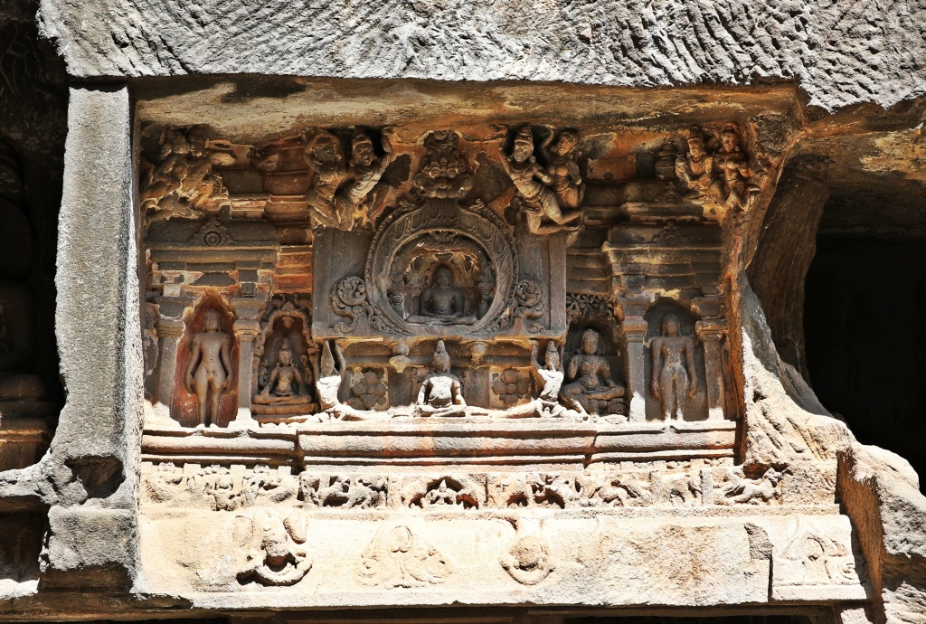 Jain rock-cut temple, Ellora