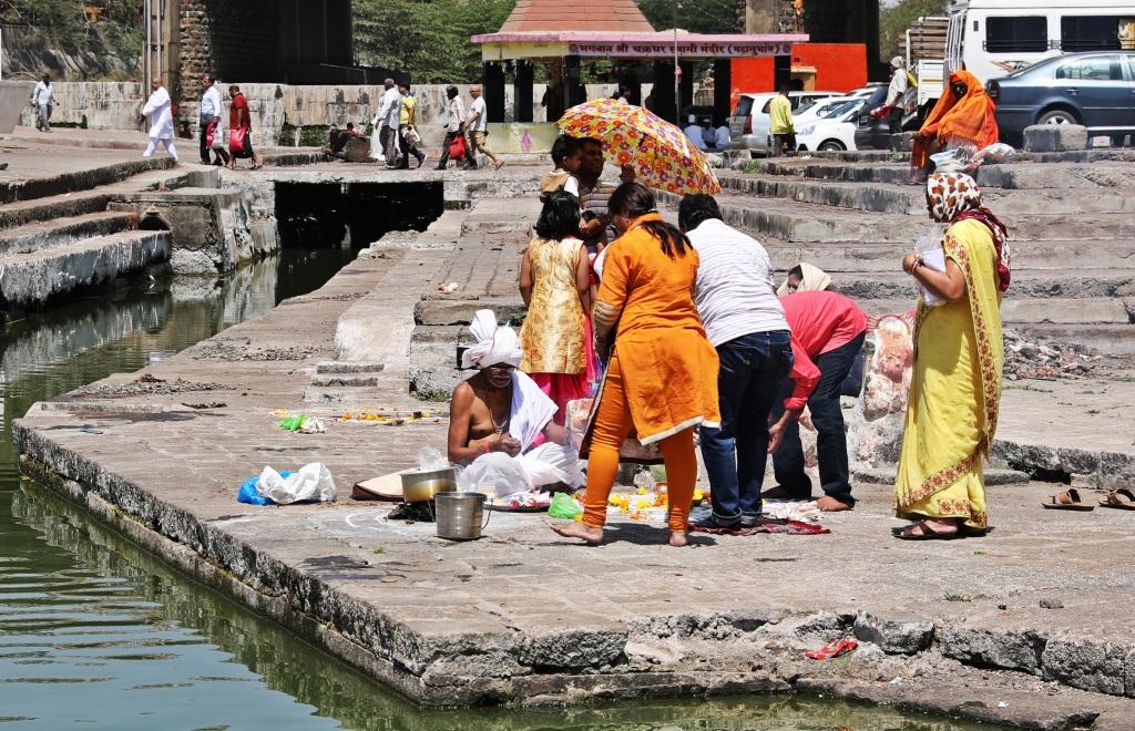 Sadhu, Godavari River Ghats, Nashik
