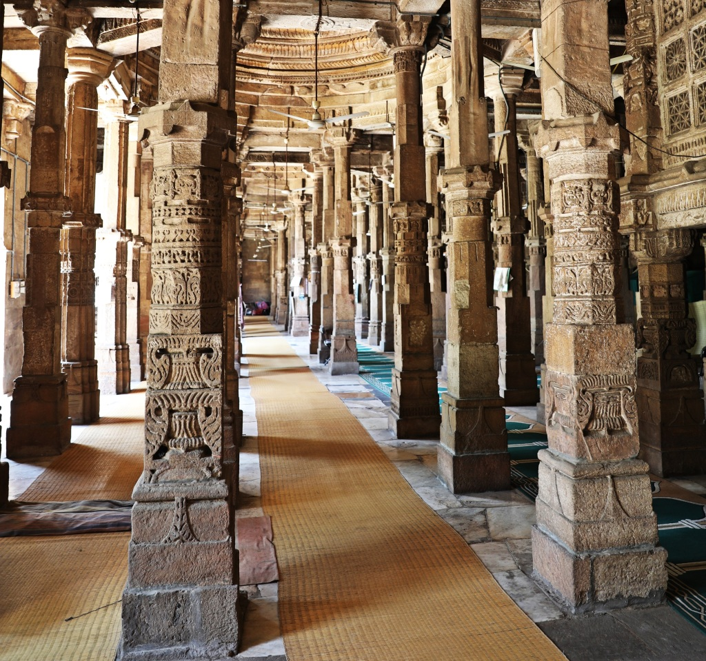Pillars, Ahmed Shah's Mosque, Ahmedabad