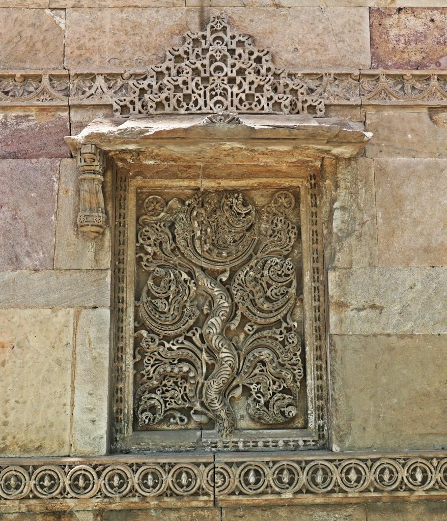 Carving, Jama Masjid , Ahmedabad