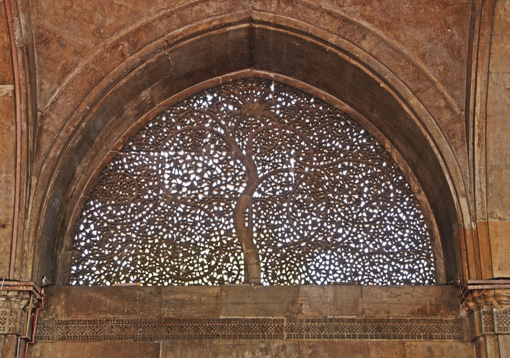Marble carved windows, Sidi Saiyyed Mosque , Ahmedabad