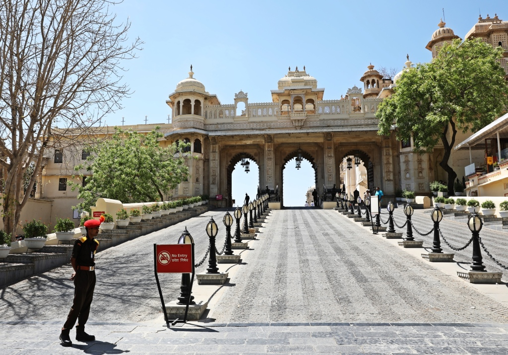 Tripolia Gate, City Palace, Udaipur