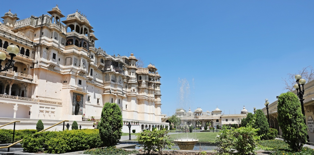 City Palace and Manek Chowk, Udaipur