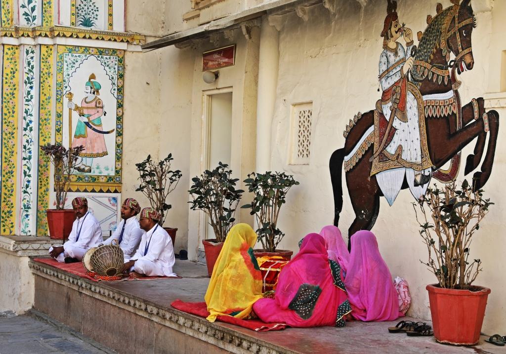 Rajasthanis, City Palace, Udaipur