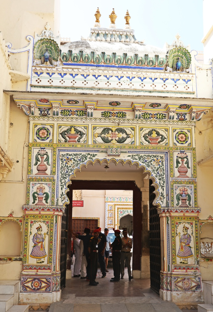 Gate, City Palace, Udaipur