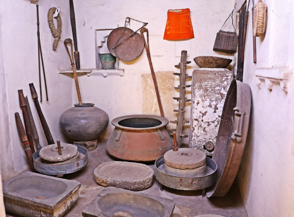 Cookware, City Palace, Udaipur