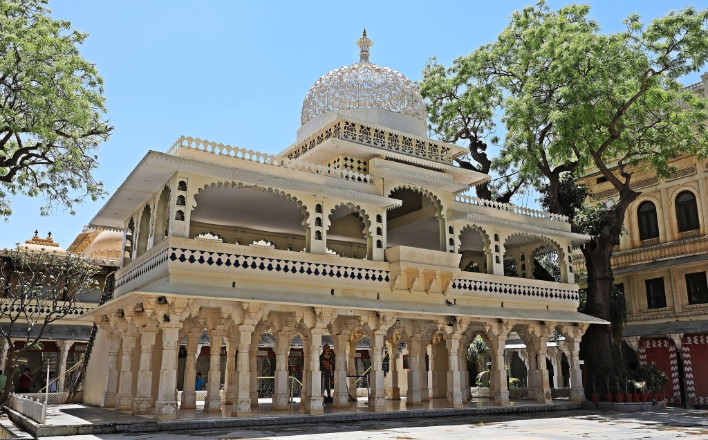 Pavilion in Laxmi Chowk, City Palace