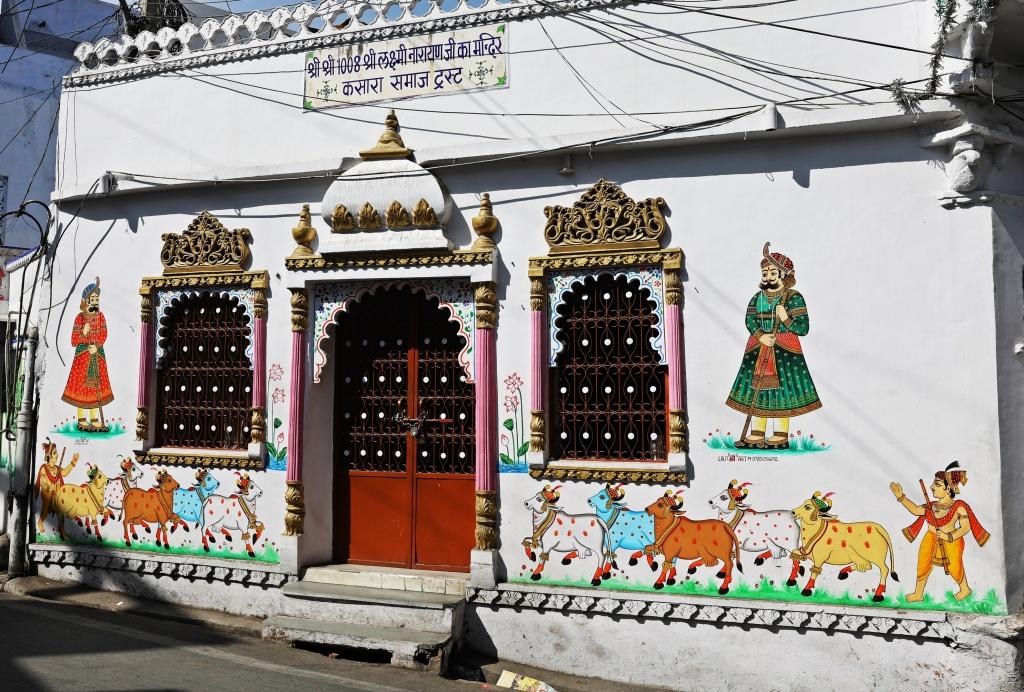 Street art,f Udaipur