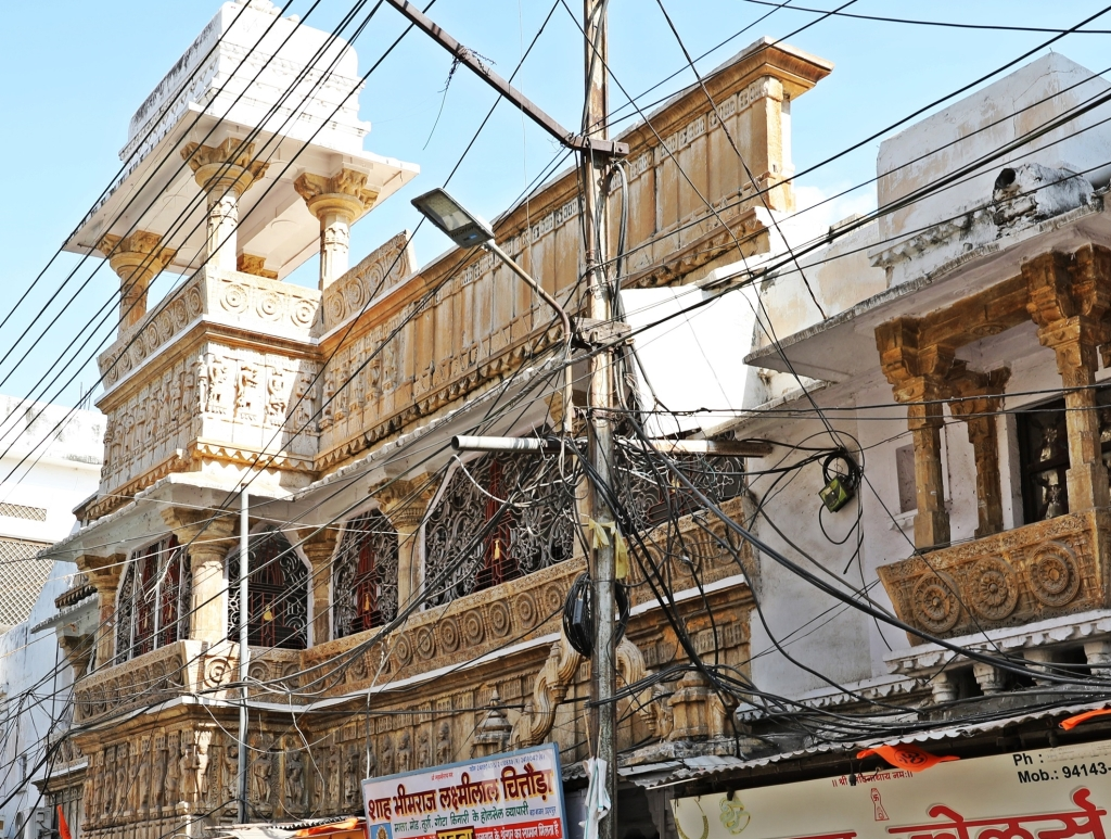 Crazy electrical wiring, Udaipur