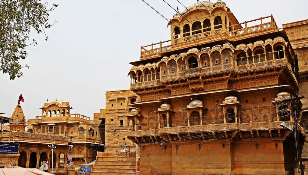 Haveli in Jaisalmer Fort