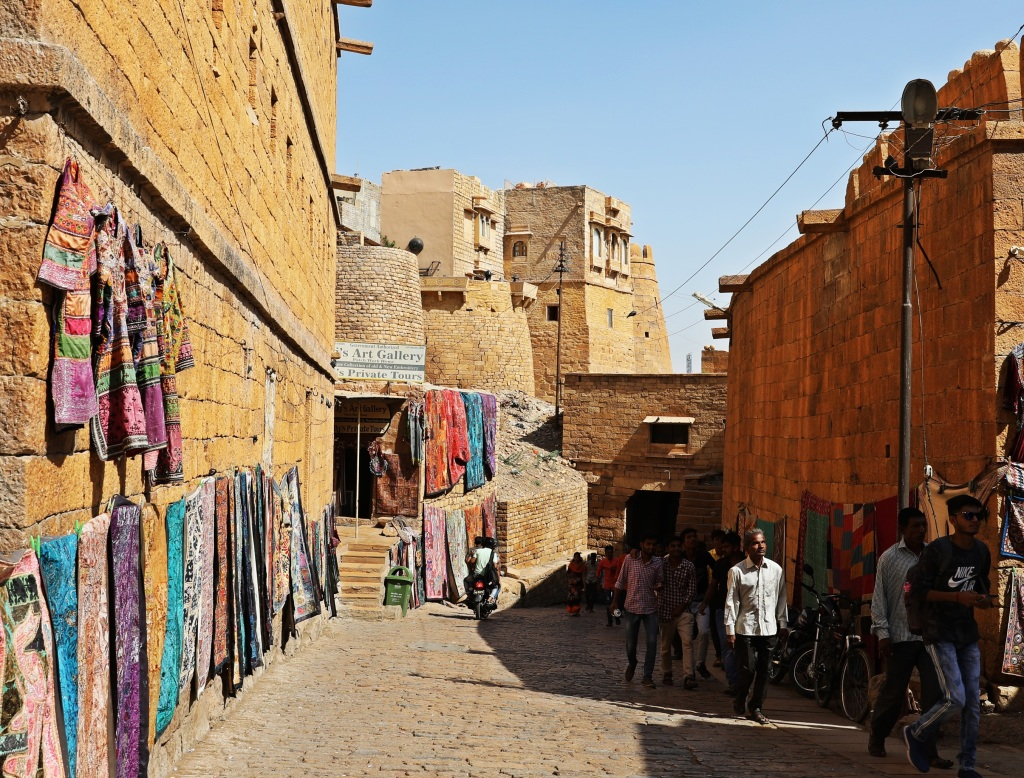 Street in Jaisalmer Fort
