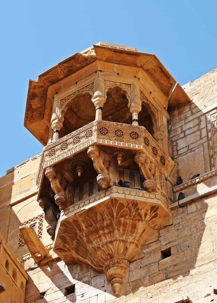 Queen's Balcony, Raj Palace, Jaisalmer Fort