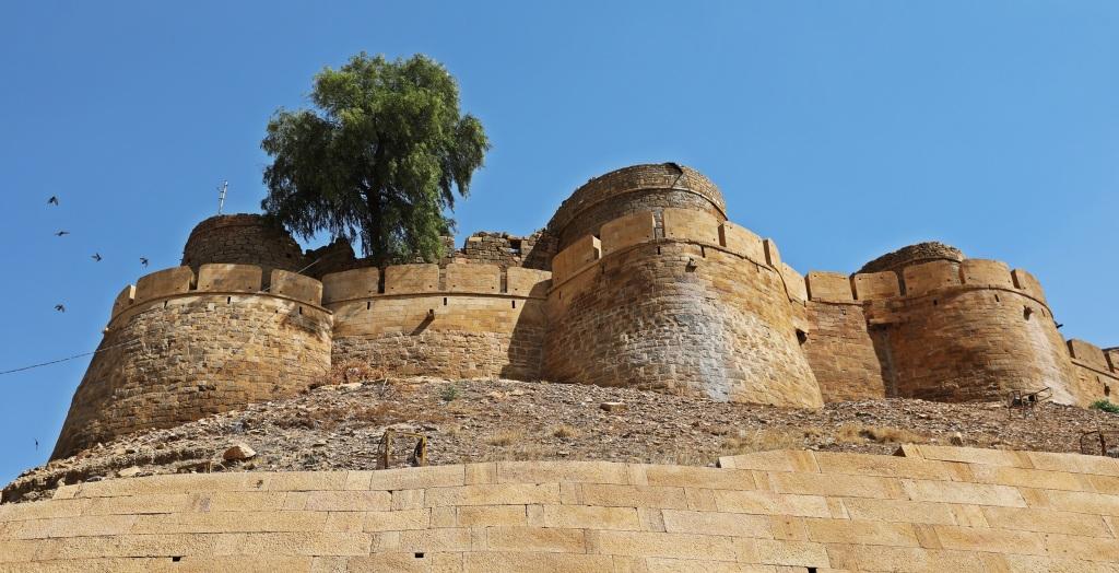 Jaisalmer Fort wall