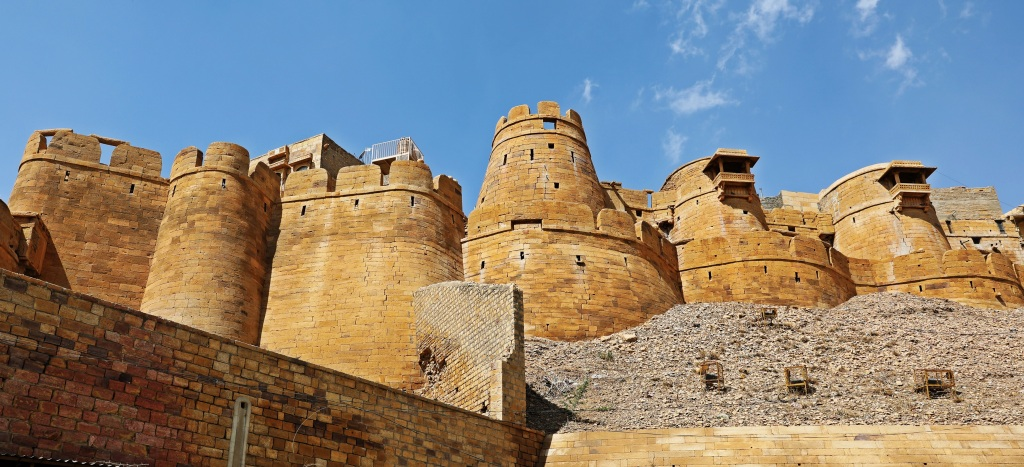 Jaisalmer Fort wall