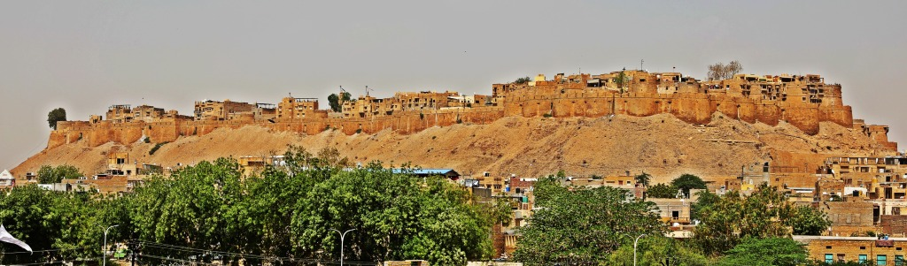 South East view of Jaisalmer Fort