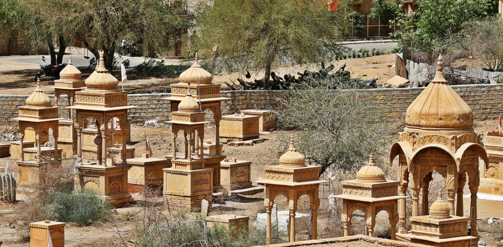 Cenotaphs, Gadisar Lake, Jaisalmer