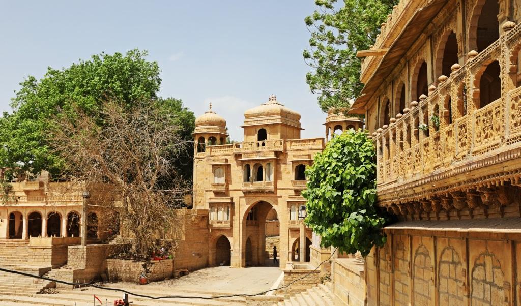 Gate to Gadisar Lake, Jaisalmer