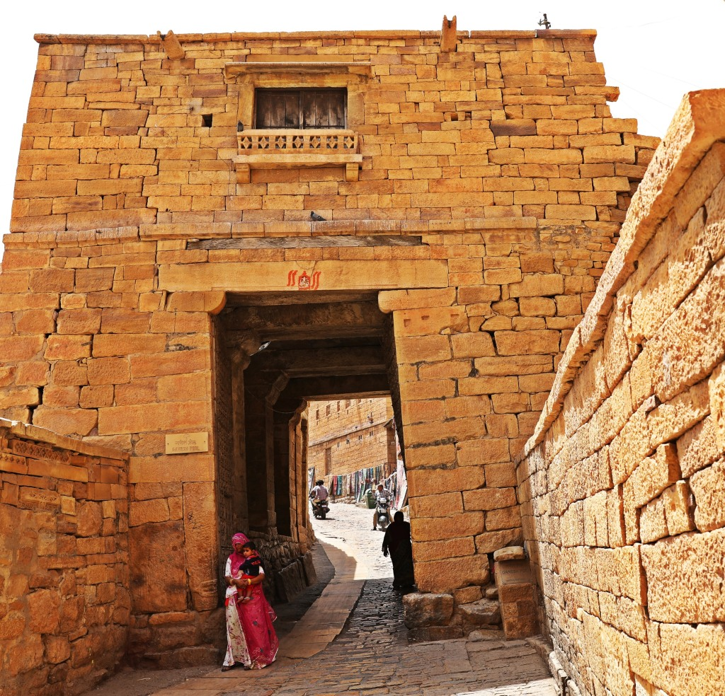 Gate, Jaisalmer Fort