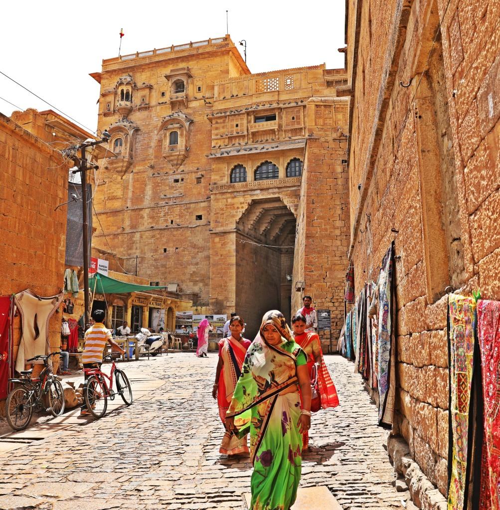 Gate, Jaisalmer Fort