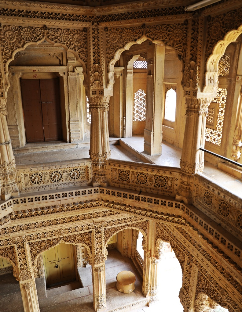 Interior of a Jain temple, Jaisalmer Fort