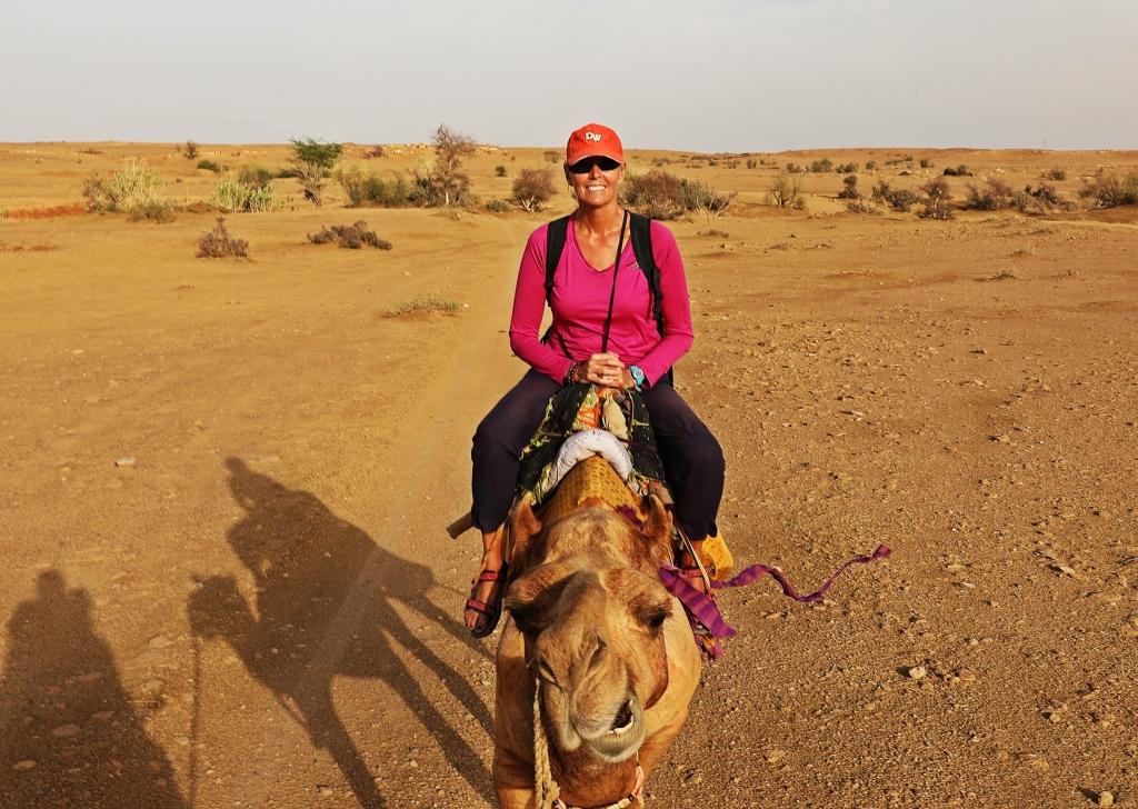 Maggie and Raj, Thar Desert