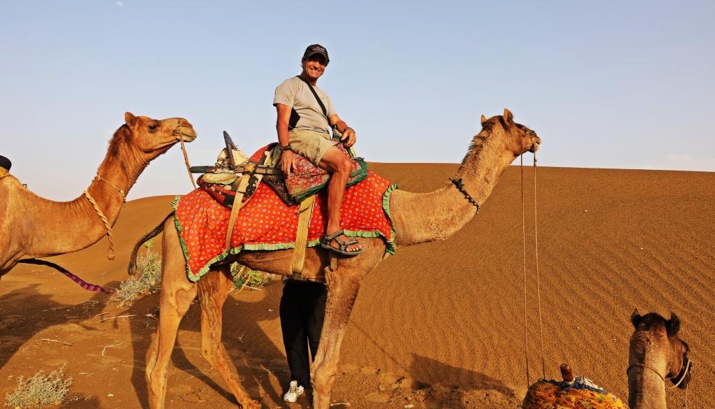 Richard and Lela, Thar Desert