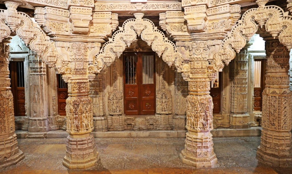 Ornately carved Torans, Jain Temple, Jaisalmer Fort