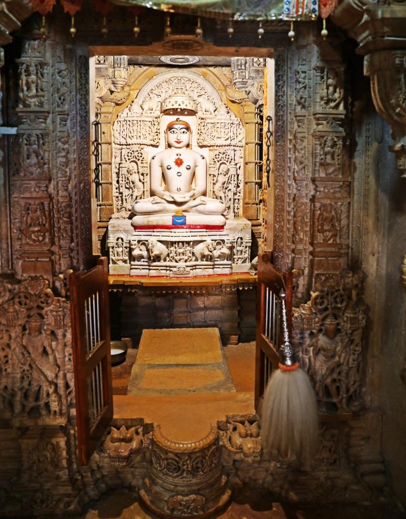 Jain teacher, Jain Temple, Jaisalmer Fort